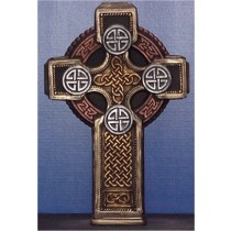 "Celtic Cross 22""Tx14""W"