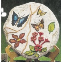 """Butterfly Plaque/Slab 11"""" dia."""