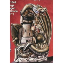 "DH Dbl.Headed Dragon & Castle 16""t"