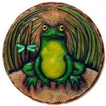 "Frog Plaque/Slab 10.5"" Dia."