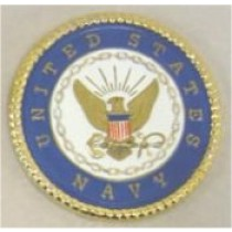 "Navy Insignia or Coaster 3 5/8"" D"