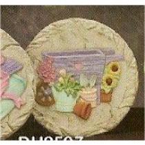 """DH Summer Gardening Slab/Plaque 11"""""""