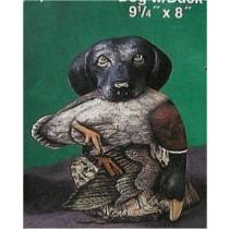 """DH Driftwood Dogw/Duck 9.25x8"""""""