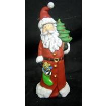 """DH Santa w/Tree & Boot 8""""t"""
