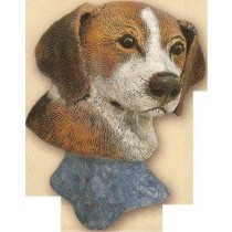 "Beagle Dog Bust 4""t"