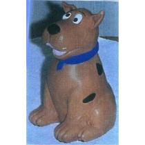 "Skooby Dog Bank 8""T"