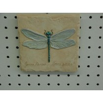 Dragonfly Plaque 5.5""