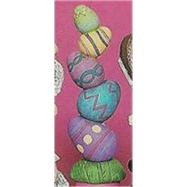 "Stacked Easter Eggs 8.75""T"