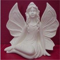 "Side Sitting Fairy 6""t"