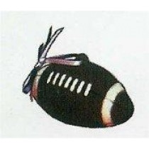 "Football Ornament  2""T"