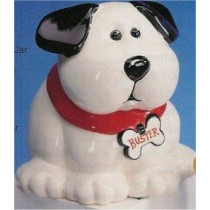 "Dog Cookie Jar 9""H"