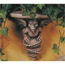 """Dragon Gargoyle Shelf 11""""d"""