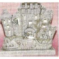 """Dracula's Castle Lite Up 13""""T"""