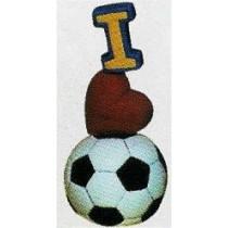 """I Love Soccer 7.5""""T"""