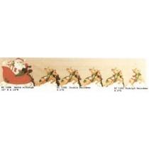 """Santa & Reindeer Set 12""""t"""