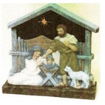 "Nativity LiteUp 12""x11.5"""