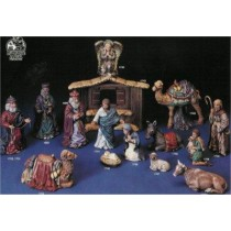 "Kimple's  Large Nativity Set   Stable 14""Tall"