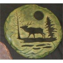 Elk Plaque/Slab 11x11""