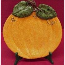 """Pumpkin Plate 12.5"""""""