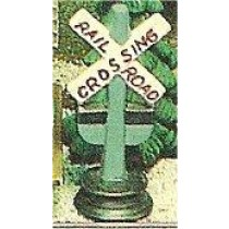 "Railroad Crossing Sign 4""t"