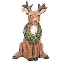 "Wreath Reindeer Jr. 7.5""t"