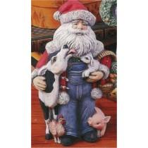 """Barnyard Santa 10"""""""