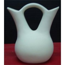 "Small Plain Wedding Vase 5.5""t"