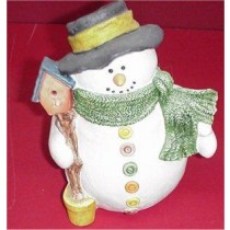 "Snowman/Birdhouse 9"""