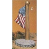 """Flag Pole 5.25"""""""
