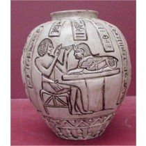 "Egyptian Vase 18""T Unpainted"