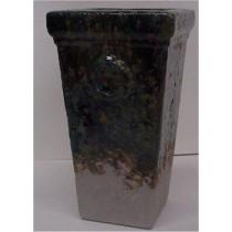 """Rustic Flower Vase 14""""T unpainted"""