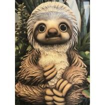 """Loki Sloth 10.75""""T x 8.25""""W"""